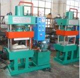 Machine de vulcanisation de plaque de quatre fléaux exportant sur le marché d'Asie du Sud-Est