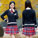 学生服のセーター、Customerizedの日本の高等学校均一デザイン