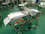 Detetor de metais da indústria alimentar do transporte de correia