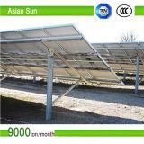 Sistema solare registrabile domestico di energia solare dei supporti sul tetto piano
