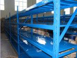 Crémaillère en acier/étagère en métal à usage moyen de mémoire d'entrepôt