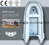 Material de PVC/PVC Material//Hypalon/Hypalon/taxi del agua con el suelo/la tarjeta de aluminio (HSD los 2.3-4.6m)