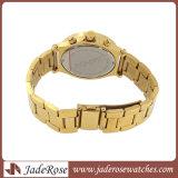 Montre d'or réglée de montre d'alliage de mode (RB3177)