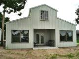 Casa residencial clara Prefab Crafted meticulosa da unidade da construção de aço (KXD-SSB26)
