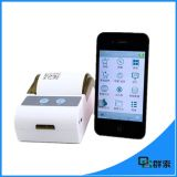 Impresora térmica androide sin hilos barata de la escritura de la etiqueta de código de barras del USB de Bluetooth