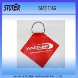 Indicateur bon marché de sûreté de PVC de coutume