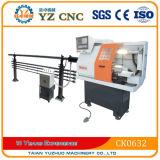 Ck0632 수평한 작은 편평한 CNC 선반 기계