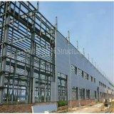 Construction en acier préfabriquée pour l'entrepôt de structure métallique