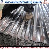 Piatto sottile d'acciaio galvanizzato strato del tetto e lamiera di acciaio ondulata