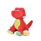 주문 이가 빠지는 견면 벨벳에 의하여 채워지는 공룡 장난감 용 연약한 장난감