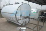 El tanque de almacenaje horizontal sanitario del tanque de almacenaje del acero inoxidable 2t (ACE-ZNLG-Y5)