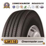 De Band 11r22.5 295/75r22.5 van de Aanhangwagen van Roadlux van Longmarch