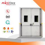 3.0 horas de la puerta cortafuego de aislante termal de la base de puerta de acero de la UL