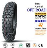 Bici de la suciedad del neumático del neumático de la motocicleta de Suramérica del neumático 4.60-18 del camino