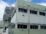 Handels- und Wohnstahlkonstruktion-Gebäude