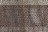 PVC antiderrapagem Placemat da isolação clássica do Weave do jacquard para a HOME & o restaurante