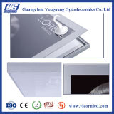 Silberner Farbe Profilrahmen magnetische LED helles Box-SDB20
