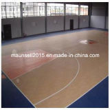 Suelo del PVC para la cancha de básquet