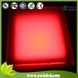 Diodo Emissor de Luz Stone Light de 300*300mm RGB Epoxy Resign com CE/RoHS/IEC Approval