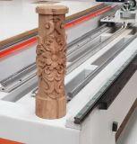 Madera, metal, piedra, ranurador rotatorio del CNC