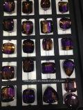 Gemstone livre grande bicolor bonito do tamanho de Ametrine