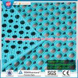Estera de goma del resbalón anti de goma de la estera del drenaje para la estera antifatiga de la venta