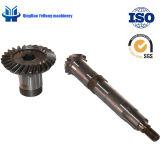 Attrezzo posteriore lavorato precisione dell'asse di azionamento dei ricambi auto d'acciaio BS5062 13/27 in ingranaggi conici elicoidali dell'automobile