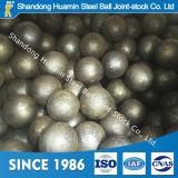 Esfera de aço de moedura forjada HRC55-65 de media para a mineração do ouro