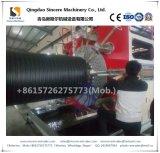 Производственная линия машина трубы замотки стены HDPE двойная полая с структурой «h»