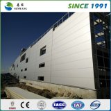 Magazzino prefabbricato di Wokshop della costruzione di edifici della struttura d'acciaio