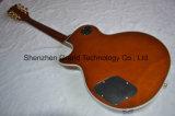 Lp Style Custom Natural Wood Electric Guitar