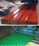 Trapezoide Fliese färbte gewölbtes Dach-Metallblatt in den PPGI Ringen
