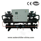Raffreddato ad acqua vite Refrigeratore di acqua per la macchina di plastica