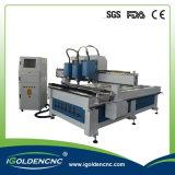 Máquina do router do CNC das cabeças dos eixos 3 do preço do competidor multi para a venda