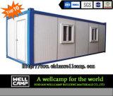 Chambre portative de conteneur de conteneur mobile de Wellcamp/bureau modulaire de conteneur