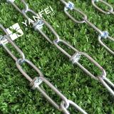 Cadena de acoplamiento estándar ASTM80 de acero inoxidable