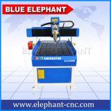 Малый маршрутизатор CNC размера 6090 с цистерной с водой для профилированного алюминия