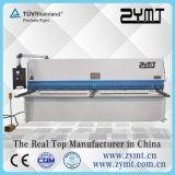 Guilhotina hidráulica do CNC, máquina de corte hidráulica do metal de folha, máquina de corte da placa, máquina de estaca do CNC