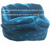 I prodotti dell'OEM della fabbrica hanno personalizzato il collo giallo cuoio multifunzionale di stile stampato marchio tubolare