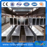 Tube rond profil en aluminium de Windows et de portes