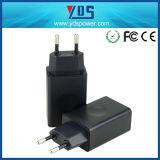 Usb-Wechselstrom-EU-Anschluss-Stecker-Aufladeeinheits-Handy fasten Aufladeeinheit