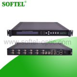 2 de Multiplextelegraaf van de Input van Asi en van 6 Tuner met Output 2*Asi