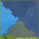 Couvre-tapis en caoutchouc de couplage d'étage de gymnastique de Crossfit de puzzle