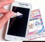Líquido de limpeza da tela do Wipe da limpeza da tela da etiqueta do telemóvel de Microfiber