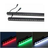 Indicatori luminosi rigidi della barra della lega DMX RGB LED Digital di DC12V Alumnium