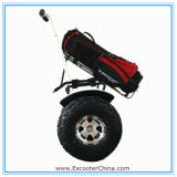 Golf Course RecreationのためのHighquality現代Big Power 2000W Allの地勢Electric Scooter Two Wheel Smart Balance Electric Golf Trolley