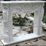 Camino bianco di Carrara per la decorazione Mfp-166
