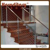Поручень штанги нержавеющей стали для рельсовой системы лестницы (SJ-H5063)