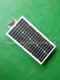 Fabrik 6W-120W alle in einem integrierten LED-Solargarten-Straßenlaterne