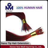 Nano TIP와 가진 인간적인 Hair Lady Hair Extension